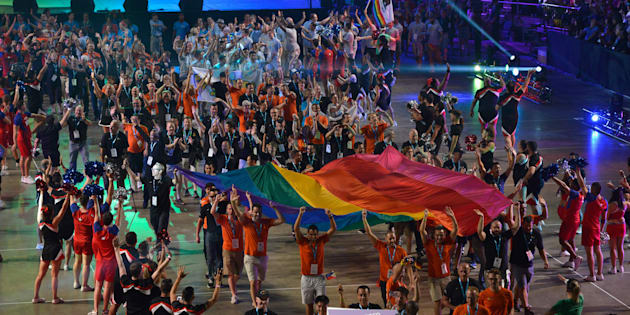 """Ouverts à tous, les Gay Games sont des """"Mondiaux de la Diversité"""" contre les préjugés."""