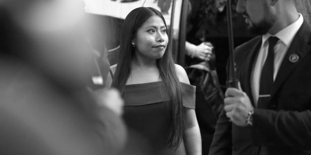 Yalitza Aparicio en el Festival Internacional de Cine de Toronto