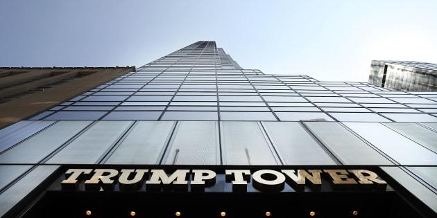 La Trump Tower sur la 5e Avenue à Manhattan.
