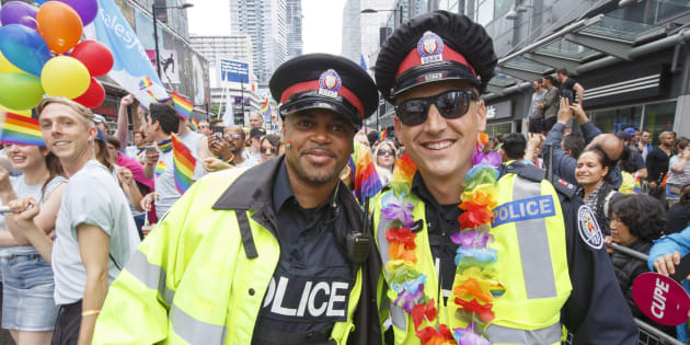 Pride Toronto has voted to ban uniformed police officers from marching in this year's parade.