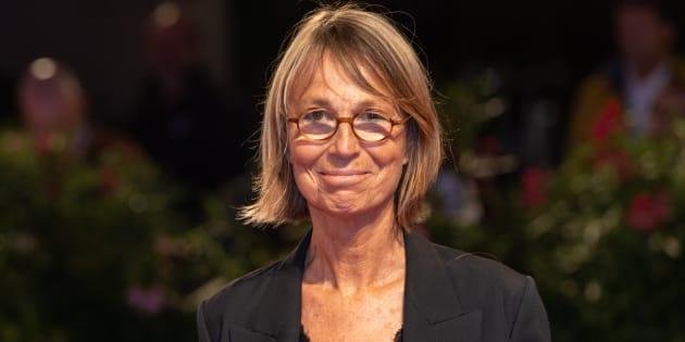 Francoise Nyssen à la Mostra de Venise le 1er septembre 2018.
