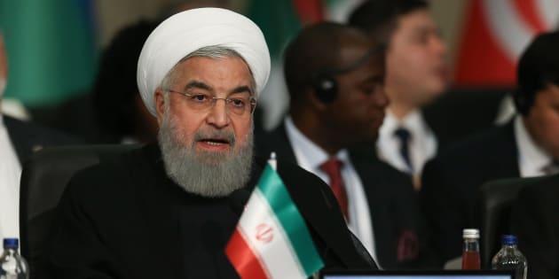 Nucléaire: l'Iran va augmenter sa capacité à enrichir l'uranium   (photo: le président Hassan Rohani à Istanbul le 18 mai)