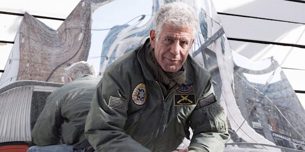 Anthony Bourdain poses for a photo in Toronto on Oct. 31, 2016.