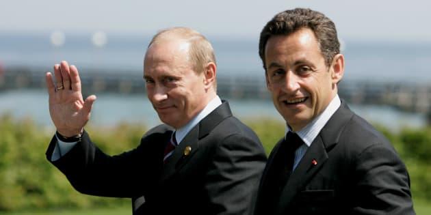 Ce que Poutine et Sarkozy se sont vraiment dit en 2007, selon le conseiller de l'ex-président