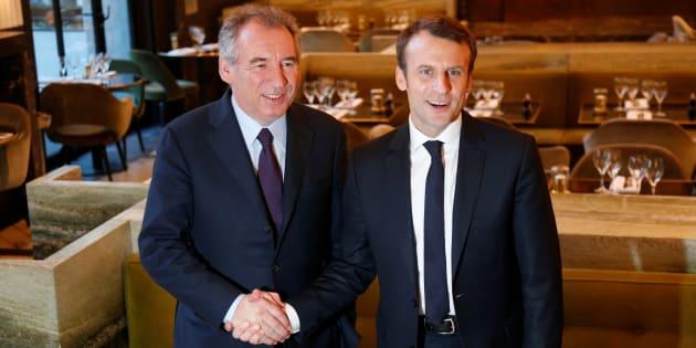 Les premiers effets de l'alliance avec Bayrou se font sentir pour Macron