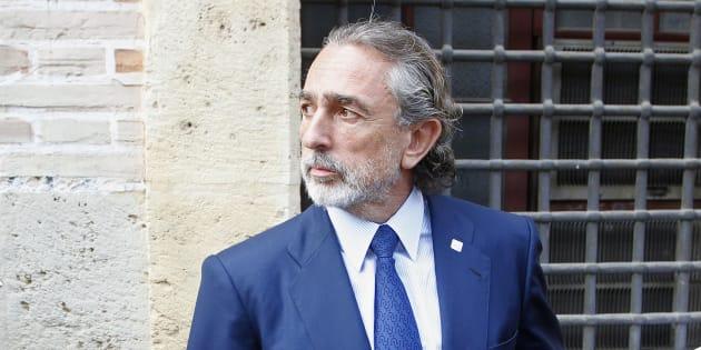 Francisco Correa, a las puertas del TSJV en 2013. REUTERS/Heino Kalis