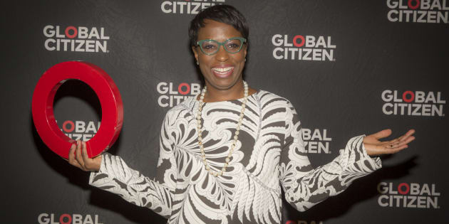 Canadian Member of Parliament Celina Caesar-Chavannes arrives at the Education In The Spotlight at Global Citizen and Global Partnership for Education Event at the Chateau Laurier on Feb. 8, 2017 in Ottawa.