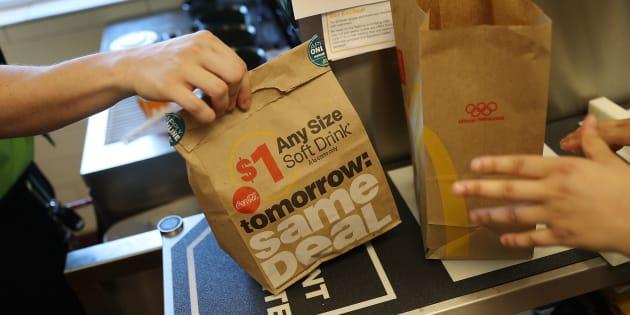 McDonald's teste la livraison à domicile en France
