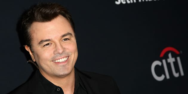 Seth MacFarlane attends The Grove Christmas With Seth MacFarlane at The Grove on Nov. 13 in Los Angeles, CA.