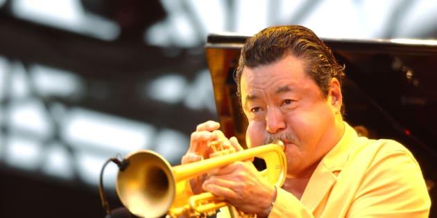 日野皓正さん (Photo by Jun Sato/WireImage)