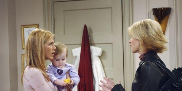 En las dos últimas temporadas de la serie 'Friends', las gemelas Sheldon interpretaron a Emma, la hija de Rachel y Ross.