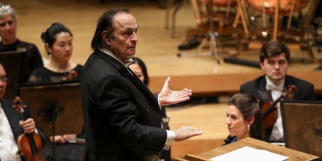 Charles Dutoit démissionne de l'Orchestre philharmonique royal de Londres