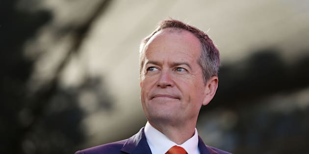 Opposition leader Bill Shorten is in Queensland on Sunday.