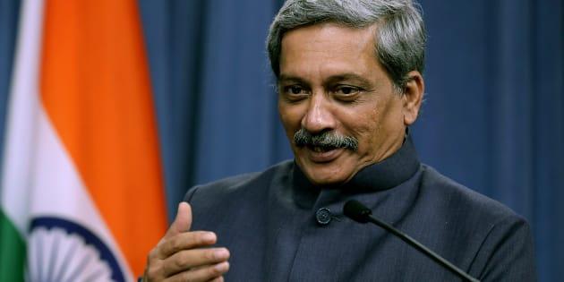 File photo of Indian Defence Minister Manohar Parrikar.