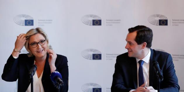 Le groupe FN sommé de justifier 400.000 euros de frais par le Parlement européen.