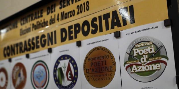 Elezioni, depositati i simboli per le politiche. Dimezzati rispetto al 2013