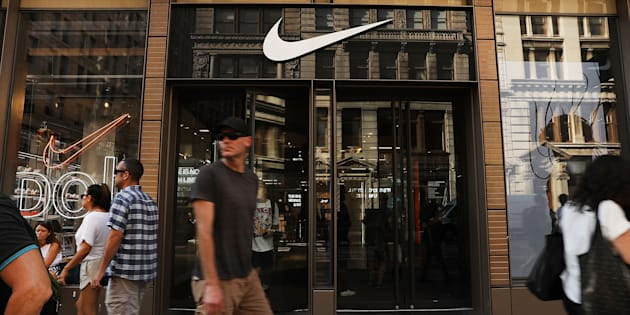Un magasin Nike à Manhattan, le 5 septembre 2018.