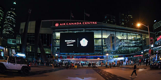 The Air Canada Centre during the World Cup of Hockey on Sept. 22, 2016 in Toronto.