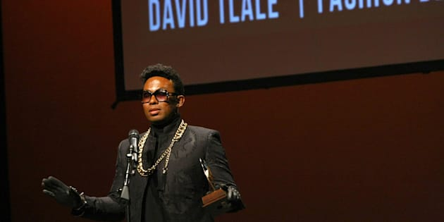 Designer of the Year David Tlale.