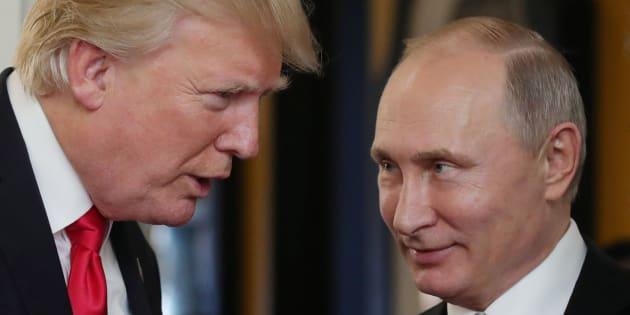 """Poutine trouve """"vexant"""" de ne pas figurer sur la liste américaine de personnalités russes"""
