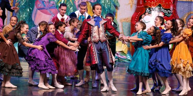 El Ballet de Moscú en un representación de 'El Cascanueces' en Nueva York.  (Photo by Jemal Countess/Getty Images)