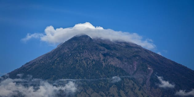 Bali's Mount Agung has the potential to erupt imminently.