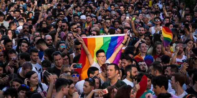Inicio a las fiestas del Orgullo 2018 en Madrid.