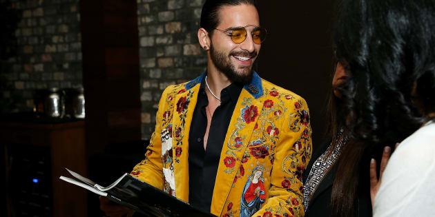Maluma asiste a la Haute Living celebra Maluma con JetSmarter y Ciroc en la sala de Highlight en el Dream Hollywood.