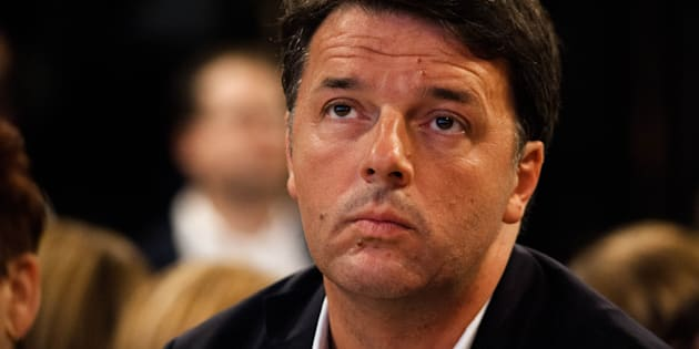 Secretary of PD Party Matteo Renzi during Program Conference of PD at the museum of Pietrarsa, in Naples, Italy October on 27, 2017 (Photo by Paolo Manzo/NurPhoto via Getty Images)