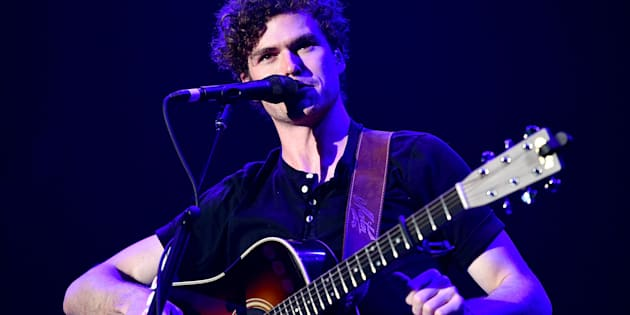 Vance Joy performs performing in Inglewood, California in December