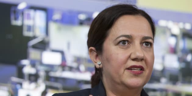 Annastacia Palaszczuk's led Labor is ahead in Queensland.