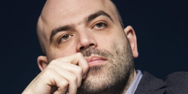 MILAN, ITALY - APRIL 19:  Writer Roberto Saviano attends  Tempo Di Libri Book Show on April 19, 2017 in Milan, Italy.  (Photo by Rosdiana Ciaravolo/Getty Images,)
