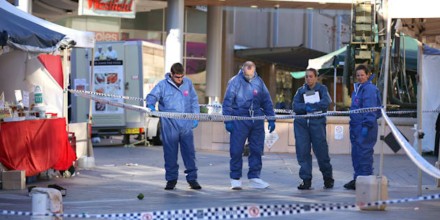 The scene of the critical incident in Hornsby last week.