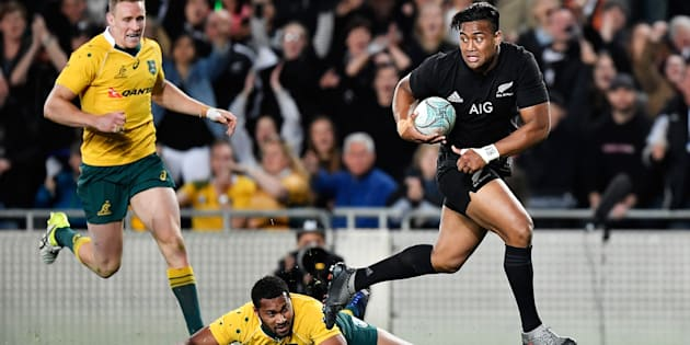 The All Blacks have run away with another Bledisloe Cup victory.