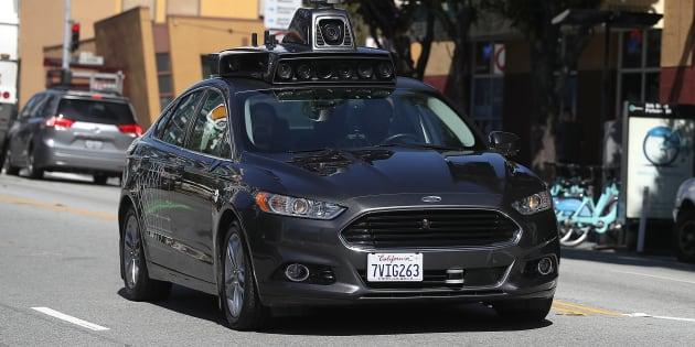 Uber Suspends Driverless Car Program After Pedestrian Is Struck and Killed