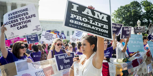 Roe v. Wade could be overturned if Trump appoints a 'pro-life' Supreme Court Judge.