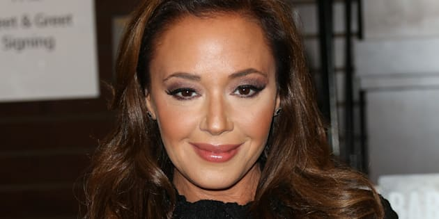 LOS ANGELES, CA - DECEMBER 08:  Actress Leah Remini signs copies of her new book 'Troublemaker: Surviving Hollywood and Scientology' at Barnes & Noble at The Grove on December 8, 2015 in Los Angeles, California.  (Photo by Paul Archuleta/Getty Images)
