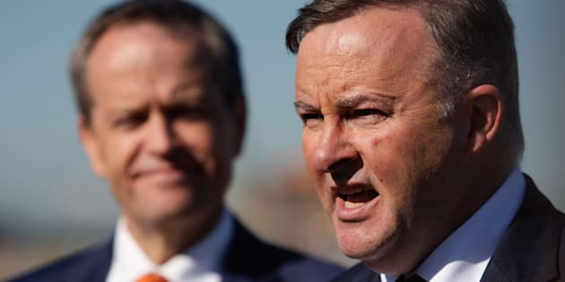 Anthony Albanese has played down rumours that he will challenge Bill Shorten for the Labor leadership... sort of.