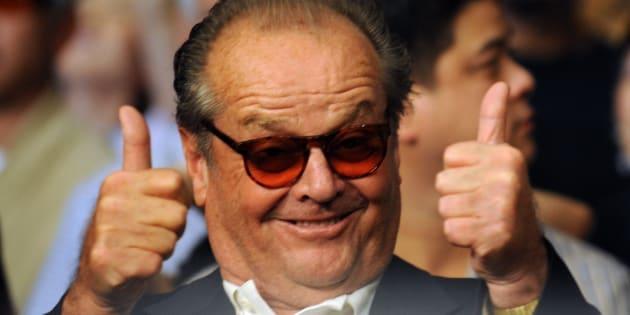 Jack Nicholson en mai 2009 à Las Vegas.