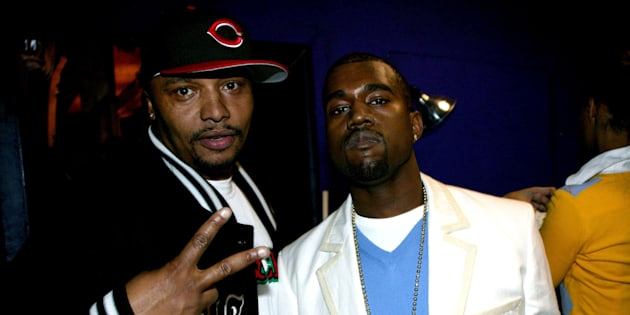 Malik Yusef and Kanye West have known each other for more than a decade. Here they are at the Def Poetry Jam in New York City in 2005.