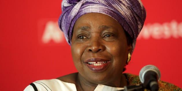 Dr Nkosazana Dlamini-Zuma