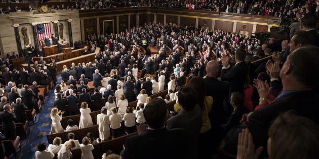 Le Congrès américain.
