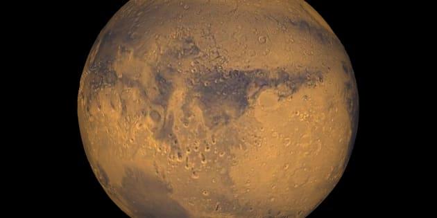 Les scientifiques ont découvert l'existence de tempêtes de neige sur la planète Mars. (Photo d'illustration)