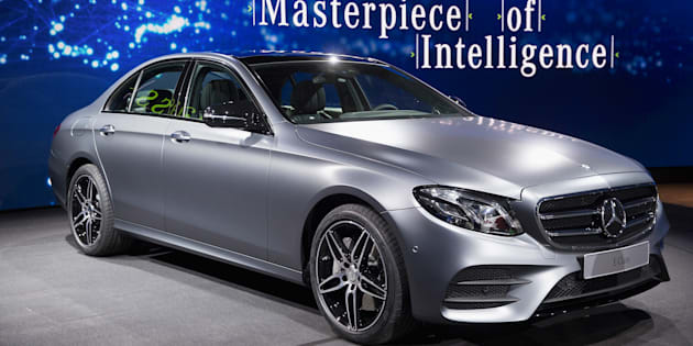 The new Mercedes-Benz E-Class can correct its road position and avoid potential crash risks.