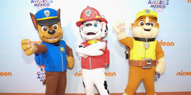 Chase, Marcus et Ruben de la «Pat'Patrouille» feront-ils des acrobaties pendant leur spectacle maintenant? 😜