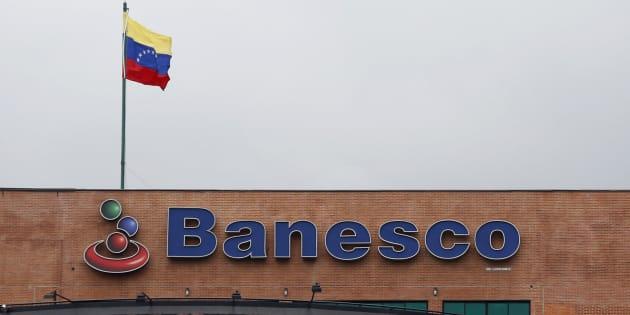 Las oficinas centrales de la institución financiera Banesco en Caracas, el 22 de agosto de 2014.