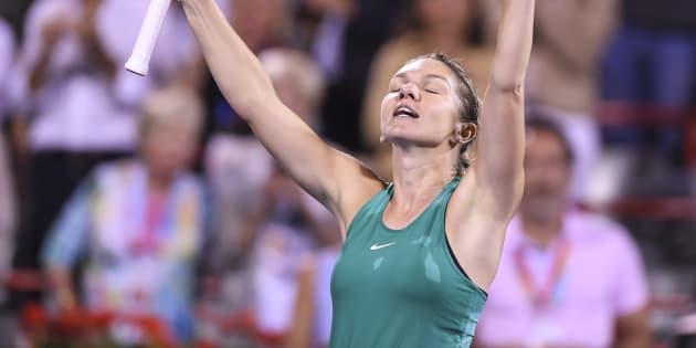 Simona Halep a dû bien dormir après avoir joué deux matchs jeudi.