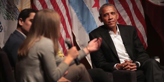De retour, Barack Obama se donne comme mission de former la nouvelle génération de leaders politiques