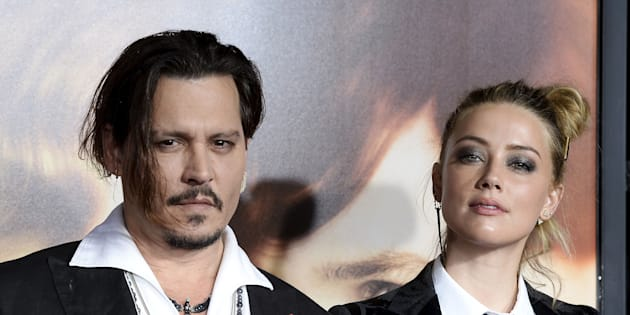 """Depp and Heard at the premiere of """"The Danish Girl"""" in 2015."""