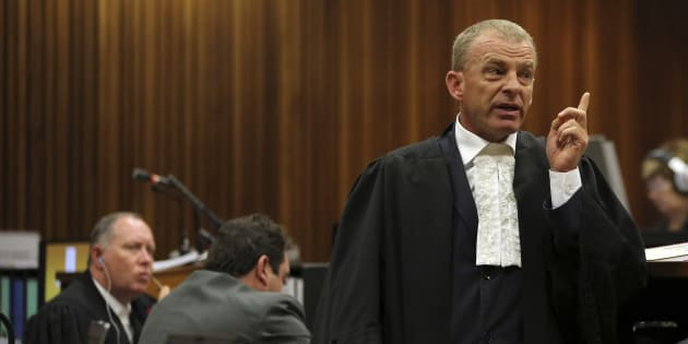 Gerrie Nel in his previous job as State Prosecutor in 2014.